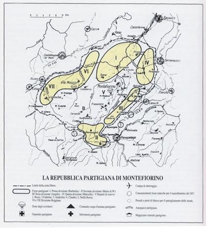 cartina partigiani